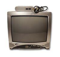 "Durabrand 13"" CRT TV DWT1304 Vintage Gaming Television + RF Modulator & Coaxial"