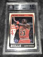 1988 Fleer Basketball Michael Jordan #17 BGS 8.5 NM-MT+