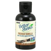 NOW Foods BetterStevia Liquid, French Vanilla, 2 oz