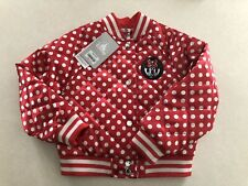 Disney Store Minnie Mouse Girls Kids Coat Jacket Size 4 New With Tags!!