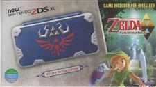 New Nintendo 2DS XL Console - Hylian Shield Edition + 3 games