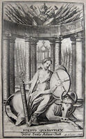 EUROPA AUF DEM STIER QUADRUPELALLIANZ FOEDUS QUADRUPLEX QUADRUPLE ALLIANCE 1717
