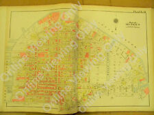 "Brooklyn Vintage Map 1908 Plate 12 22.5"" x 32"" Greenpoint Ave Newton Creek Sec 9"