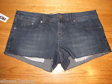 Fox dark Denim 97275 Shorts juniors womens women's 0 0/24 NWT 42.50 NWT *^