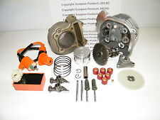 100cc Big Bore Kit, Performance Cam, Performance CDI GY6 50cc 139QMB, 50mm