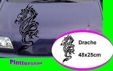 Tribal Drache nr3 Motorhaube style tuning  Aufkleber Sticker leider JDM OEM