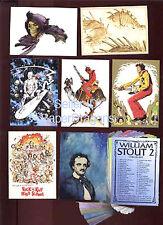 WILLIAM STOUT - Series 2 - 90 Card Fantasy Art Set