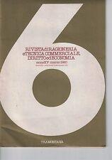 RIVISTA DI RAGIONERIA E TECNICA COMMERCIALE, DIRITTO ED ECONOMIA - N.6 - 03 1980