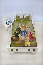 Peter Rabbit Junior Bed Duvet Set Beatrix Potter Kids Bedding - Exclusive...