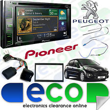 "PEUGEOT 207 06 > PIONEER 6.2 ""CD DVD MP3 USB Aux Bluetooth DAB stéréo double din"