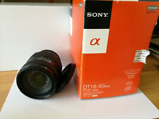 Sony Alpha Objektiv 16-50 mm SAL mit OVP, 1650 F/2.8 SSM DT Objektiv TOP