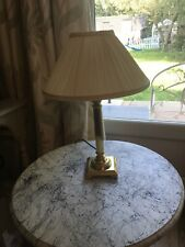 Laura Ashley Bedside Lamp With Cream Shade