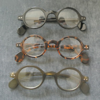 Classic Round Eyeglass Frames Metal Vintage Fashion Glasses Mens Womens Rx-able
