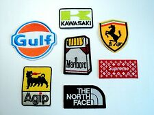 1x Iconic Brand Patches Embroidered Cloth Badge Applique Iron Sew On3