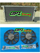 ALUMINUM RADIATOR +FAN VOLKSWAGEN VW GOLF GTI MK3 VR6 AAA 2.8L MT 1994-1998
