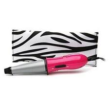 New Conair MiniPRO Ceramic Clipless Curler Curling Iron Dual Voltage CD64R