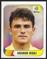 """EURO 96 STICKER - ROMANIA - """"GHEORGHE MIHALI"""" No 134 BY MERLIN"""