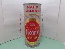 HOME DRY LAGER 16oz FLAT TOP BEER CAN #231-3   ATLAS  BREWING CHICAGO, ILL.