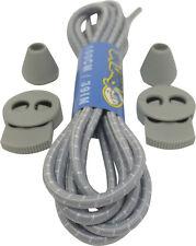 LOCKABLE LACES ELASTIC SHOELACES 3mm wide 100cm long - 40 options - Free UK P&P!