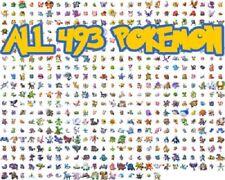 1x Custom Unlocked DS Pokemon Diamond All 493 Shiny Pokemon 999x All Items 100%