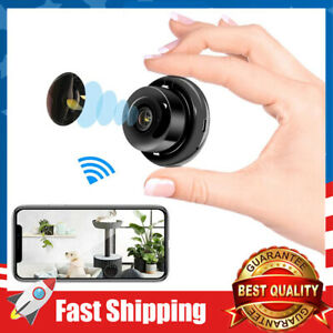 Mini IP HD Camera WiFi Home Security Surveillance Nanny Camcorder 2 Way Audio