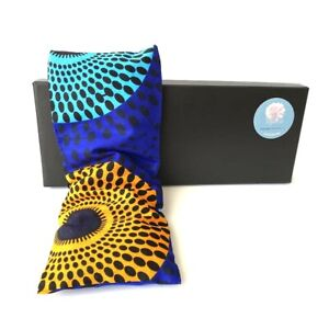 Yoga Meditation Eye Pillow Filled with Lavender Flaxseeds/Linseeds 100% COTTON