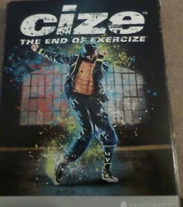 CIZE The End of Exercize DVD Shaun T Dance Workout Exercise Fitness 3-Disc Set