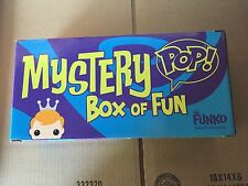 Funko Fundays 2015 SDCC Box Of Fun Empty Pop Box , holds 3 pops great for displa