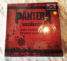 Pantera/The Complete Studio Albums 1990-2000 Sealed Vinyl Box Set Rare!