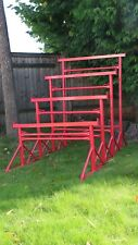More details for builders trestles - all sizes - trestle - band stands painted 690kg swl/pressure