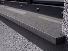 Fensterbank Außen oder Innen Fensterbretter Basalt dunkelgrau Naturstein