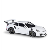 Welly 1:24 2016 Porsche 911 GT3 RS White Diecast Model Sports Racing Car NIB