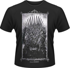 Game Of Trônes - Win Or Die T-SHIRT HOMME S Plastic Head