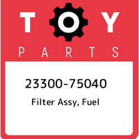 23300-75040 Toyota Filter assy, fuel 2330075040, New Genuine OEM Part