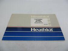 Heathkit HN-31A Cantenna Dummy RF Load Assembly & Ops Manual