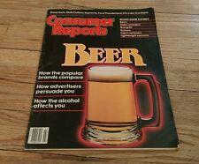 Consumer Reports July 1983 BEER Gas Grills SCISSORS Vacuum VCR Fabric Softener
