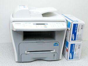 SAMSUNG SCX-4216F Laserdrucker Scanner Kopierer Printer Fax + 2 neue Toner
