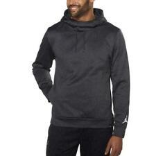 NWT Nike Men's Air Jordan Jumpman Therma Fit Fleece Pullover Hoodie MEDIUM Grey