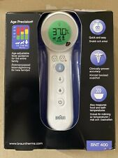 Braun BNT400 No touch + touch forehead Thermoscan with Age Precision same day