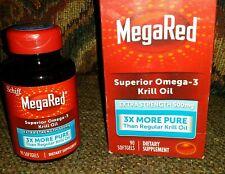 MegaRed 500mg forza supplementare OMEGA - 3 Olio di Krill conteggio (90)