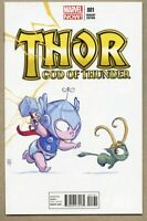 Thor God Of Thunder #1-2013 nm- 9.2 1st Skottie Young Variant cover 1st King Tho