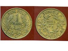 TUNISIE TUNISIA 1 franc 1921  ( ca )