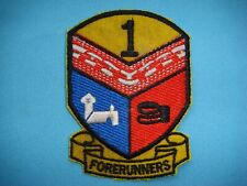 PATCH US ARMY 1st ARMORED DIVISION 1st BRIGADE FORERUNNERS