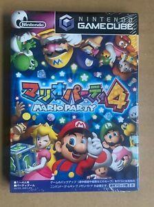 Mario Party 4 Nintendo Gamecube Japan New! Sealed GC