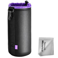 Neewer Extra Large Lens Pouch Bag for Canon Nikon Pentax Sony Olympus Panasonic