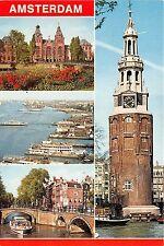 B68171 Holland Amsterdam boats bateaux multiviews netherlands