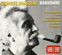GEORGES BRASSENS - BONHOMME 3 CD NEU