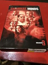 Criminal Minds - The Complete Third Season (DVD, 2008, 5-Disc Set)