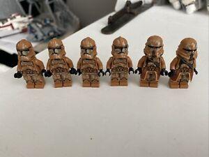 LEGO Star Wars Clone Troopers Geonosis Lot Of 6
