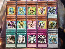 Yugioh Tournament Ready To Play Deskbot 43 Card Deck Machine Duplication NM